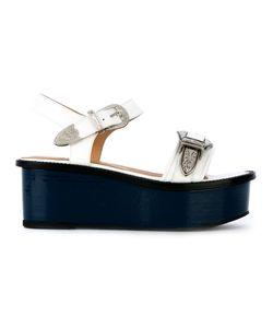 Toga Pulla | Buckled Platform Sandals Size 38.5