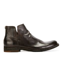 Officine Creative | Zip-Back Ankle Boots 42 Leather