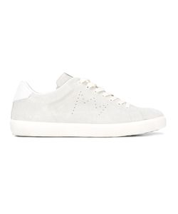 Leather Crown | Classic Lace-Up Sneakers Size 45