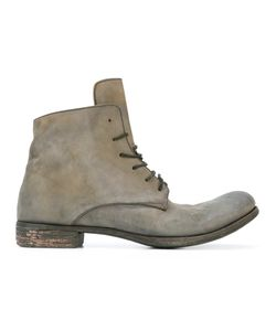 A DICIANNOVEVENTITRE | Lace-Up Boots 44 Horse Leather/Leather