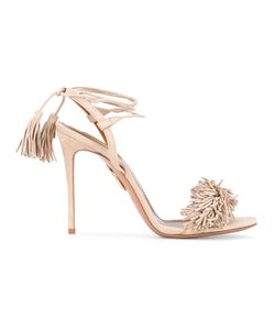 Aquazzura | Wild Thing High-Heel Sandals 35 Suede/Leather