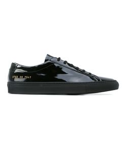 Common Projects | Patent Low-Top Trainers Leather/Patent Leather/Foam