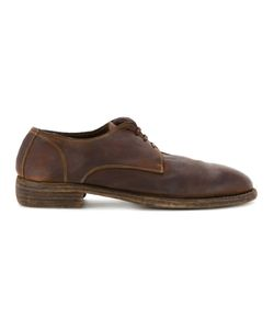 GUIDI | Soft Derby Shoes Size 42