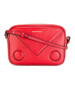 Emporio Armani | Logo Print Shoulder Bag Calf Leather