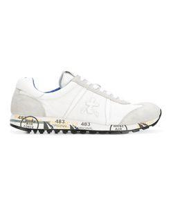 PREMIATA WHITE | Lucy Sneakers 40 Nylon/Leather/Suede/Rubber