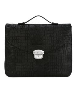 Orciani | Clasp Laptop Bag