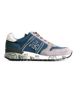 PREMIATA WHITE | Premiata Lander Sneakers 41 Suede/Leather/Neoprene/Rubber
