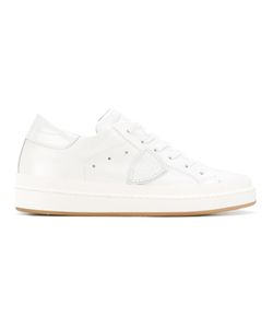 Philippe Model | Lateral Patch Sneakers 37 Leather/Rubber/Cotton