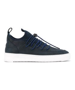 Filling Pieces | Neo Suede-Panelled Sneakers Size 36