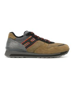 Hogan Rebel   Forest Sneakers 11 Leather/Suede/Rubber