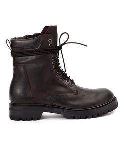 Rick Owens | Ботинки На Шнуровке
