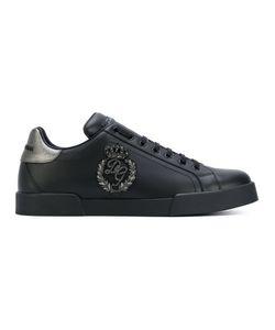 Dolce & Gabbana | Кроссовки С Вышивкой Логотипа