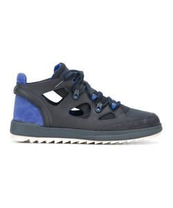 Camper | Cut-Out Sneakers 40 Leather/Suede/Cotton/Polyamide