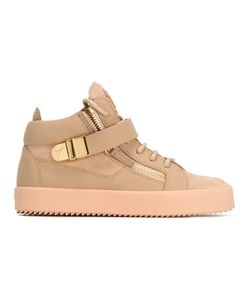 Giuseppe Zanotti Design | Lace-Up Sneakers 39 Leather/Rubber