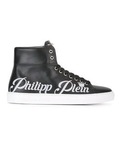 Philipp Plein | Hi-Top Sneakers 44 Calf Leather/Leather/Rubber