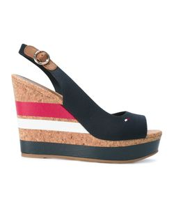 Tommy Hilfiger | Striped Wedged Sandals