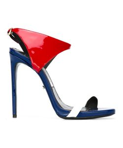 MARCO PROIETTI DESIGN | Stiletto Sandals 39.5 Patent Leather/Leather