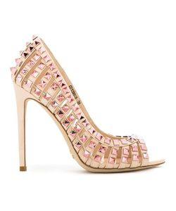 GIANNI RENZI | Studded Detail Pumps 36 Patent Leather
