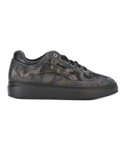Pollini | Camouflage Print Sneakers Size 42