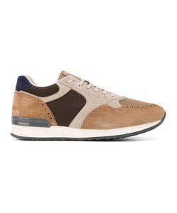 Eleventy   Contrast Panel Sneakers Size 41