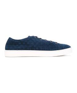Santoni   Woven Sneakers 7.5