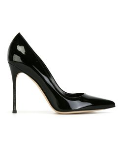 Sergio Rossi | Pointed Pumps 37.5 Leather/Patent Leather