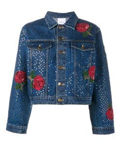Ashish | Sequin Embellished Denim Jacket Small Cotton