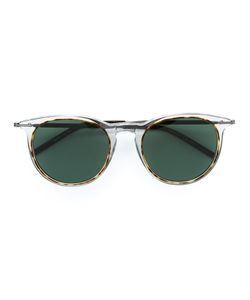 Tomas Maier   Oval Frame Sunglasses Size Acetate/Metal