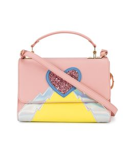 Sophie Hulme | Heart And Lightning Parker Bag Calf Leather/Patent