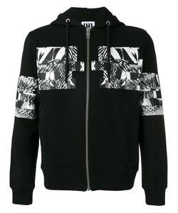Les Hommes Urban | Patch Hooded Sweatshirt Size Medium
