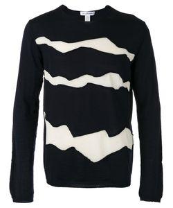 Comme Des Garcons | Comme Des Garçons Shirt Panel Detail Lightweight Knitted Jumper Size