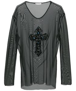 Faith Connexion | Sheer Blouse Women L