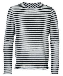 KAZUYUKI KUMAGAI | Breton Stripe T-Shirt 2 Linen/Flax/Cotton/Polyurethane