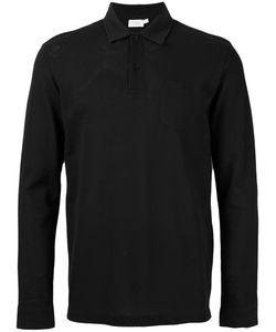 Sunspel | Longsleeved Polo Shirt Size Large