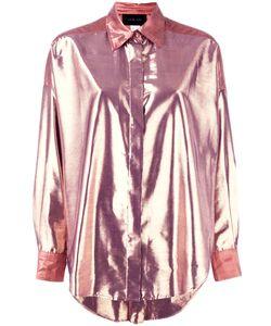 Michel Klein | High-Shine Shirt 42