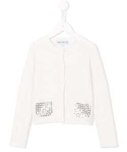 Simonetta | Sequinned Front Pockets Cardigan 12 Yrs