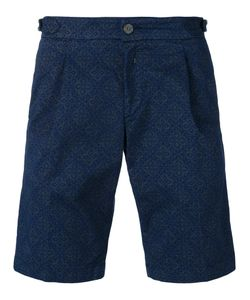 Re-Hash | Tile Print Shorts 33