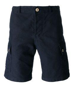 Bleu De Paname | Back Pocket Cargo Shorts Size 34