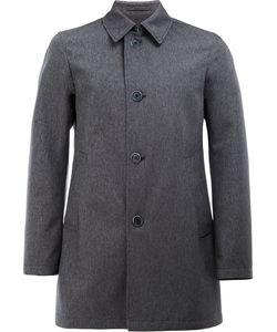 Herno | Single-Breasted Coat 52 Cotton/Polyester