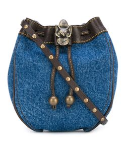 Philosophy di Lorenzo Serafini | Denim Drawstring Bag