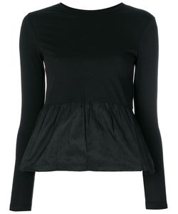 Red Valentino | Gathered Waist Longsleeved Blouse