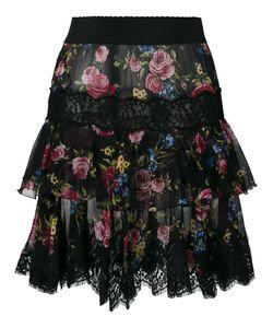 Dolce & Gabbana | Lace Hem Skirt