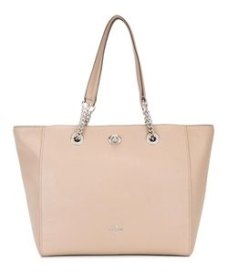 COACH | Turnlock Chain Tote Calf Leather
