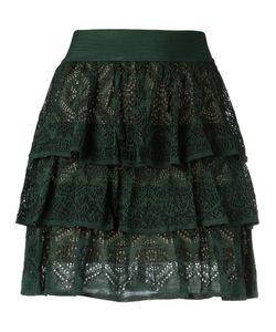 CECILIA PRADO | Knit Ruffled Skirt