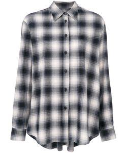 MM6 by Maison Margiela | Свободная Рубашка В Клетку