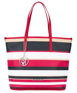 ARMANI JEANS | Striped Shopper Tote
