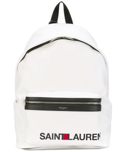 Saint Laurent | City Logo-Print Backpack