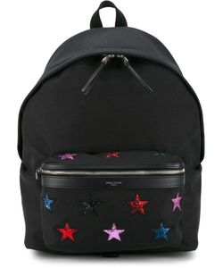 Saint Laurent | Star Embroide Backpack Polyester