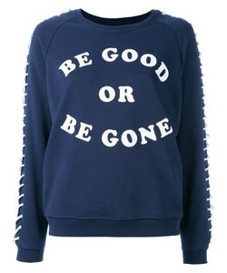 Zoe Karssen | Lace-Up Sleeves Sweatshirt Size Xs