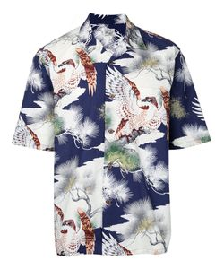 Gold | King Of The Sky Hawaiian Open Shirt